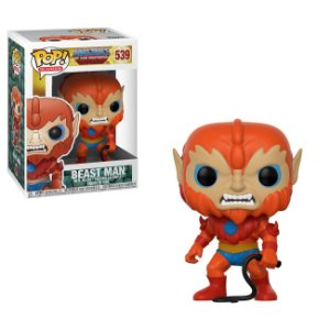 **PROMO** He-Man Masters of The Universe Beast Man Homem Fera Pop - Funko