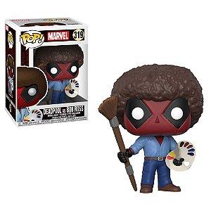 Marvel Deadpool as Bob Ross Pop - Funko
