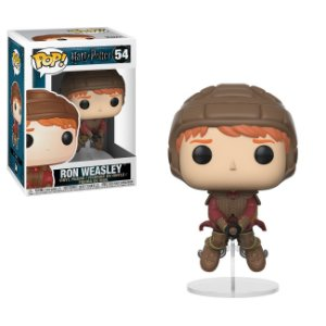 Harry Potter Ron Weasley on Broom Pop - Funko