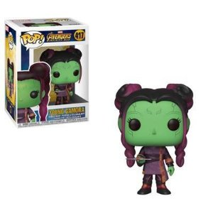 Vingadores Avengers Young Gamora with Dagger Pop - Funko