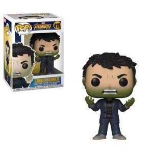 Vingadores Avengers Bruce Banner with Hulk Head Pop - Funko