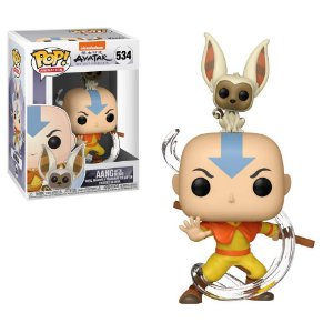 Avatar The Last Airbender Aang with Momo Pop - Funko