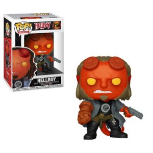 Hellboy Hellboy with BPRD Tee Pop - Funko