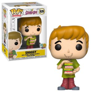 Scooby Doo Shaggy Salsicha with Sandwich Pop - Funko