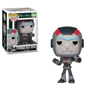 Rick and Morty Purge Suit Rick Pop - Funko