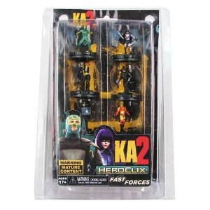 Kick Ass 2 Heroclix c/6 Mini-figuras - Neca