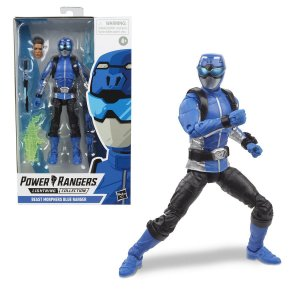 Power Rangers Beast Morphers Blue Ranger - Hasbro