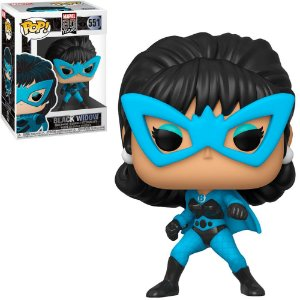 Marvel 80th Years Black Widow Pop - Funko