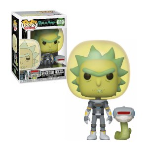 Rick and Morty Space Suit Rick with Snake Pop - Funko