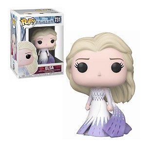 Frozen 2 Elsa Epilogue Dress Pop - Funko