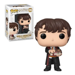 Harry Potter Neville Longbottom with Monster Book Pop - Funko