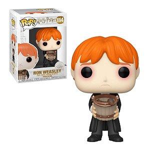 Harry Potter Ron Weasley with Bucket Pop - Funko