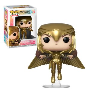 WW84 Wonder Woman Golden Armor Flying Pop - Funko