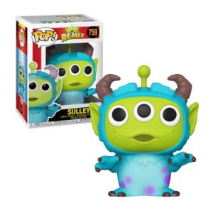 Disney Pixar Alien Remix Sulley Pop - Funko