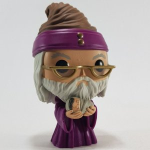 Loose Harry Potter Albus Dumbledore with Baby Harry Pop - Funko