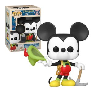 Disneyland Resort 65th Anniversary Matterhorn Bobsleds Mickey Pop - Funko