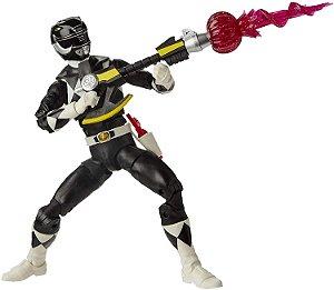 Power Rangers Lightning Mighty Morphin Black Ranger - Hasbro