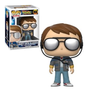 Back to the Future Marty with Glasses Pop - Funko
