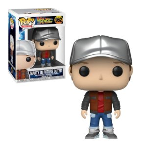 Back to the Future Marty in Future Outfit Pop - Funko