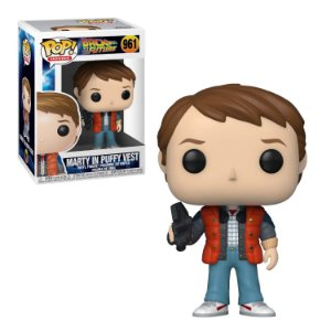 Back to the Future Marty in Puffy Vest Pop - Funko