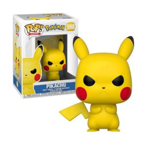 Pokemon Grumpy Pikachu Pop - Funko