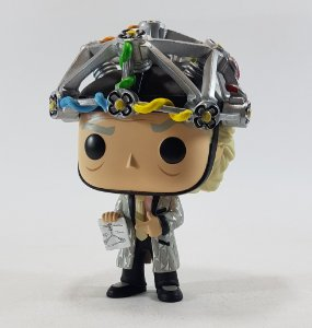 Loose Back to the Future Doc with Helmet Pop - Funko