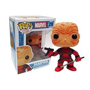 Marvel Deadpool Unmasked Previews Exclusive Pop - Funko