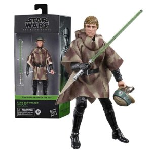 Star Wars Black Seires Luke Skywalker Endor - Hasbro