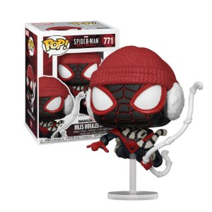 Spider-Man Miles Moreles GameVerse Miles Morales Winter Suit Pop - Funko