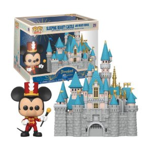 Disney Sleeping Beauty Castle and Mickey Mouse Pop - Funko