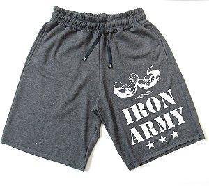 Bermuda de Moletom Iron Army