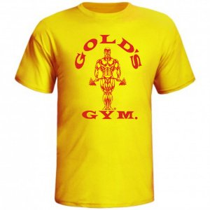 BOX DE OFERTAS - Camiseta Golds Gym Amarela