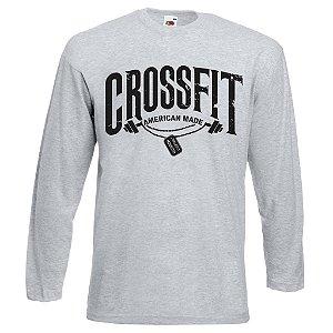 Camiseta manga longa Crossfit