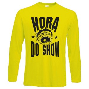 Camiseta Manga Longa Hora do Show
