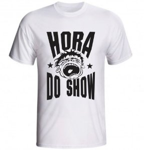 Camiseta Hora Do Show
