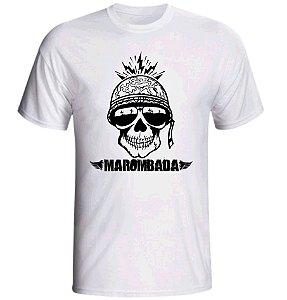 Camiseta Caveira Soldado Marombada