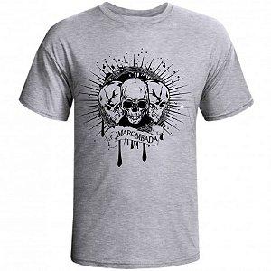 Camiseta Três Caveiras Marombada