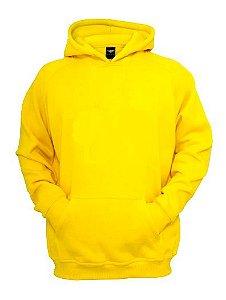 Blusa de Moletom cor amarela