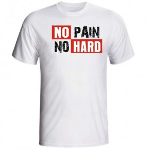 Camiseta No Pain No Hard