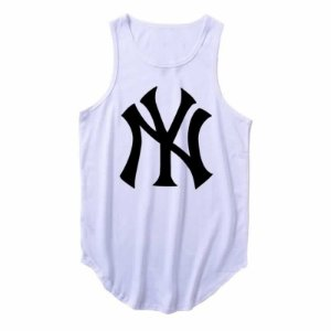 Regata Longline New York Yankees cor Branca