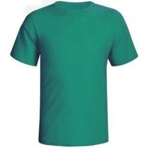 Camiseta Verde Lisa Sem Estampa