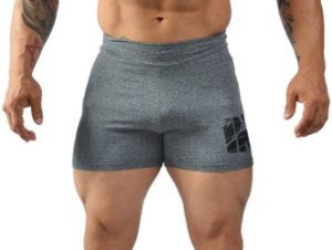 Short Masculino Insano Workout Shorts Cor Cinza