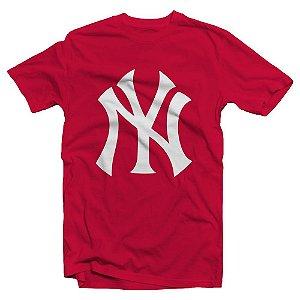 Camiseta New York Vermelha