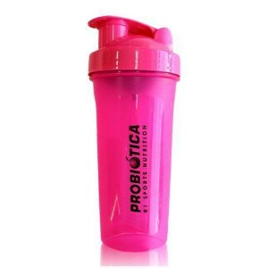 Coqueteleira Shaker Rosa - 700ml - Probiótica