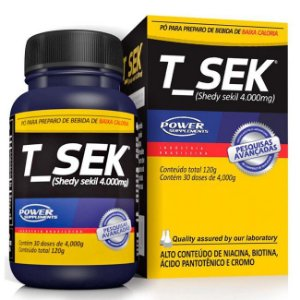 T-Sek - Seca Gordura (30 Doses/120G) - Power Supplements