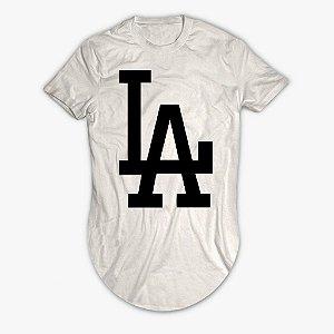 5f2eea694 Camiseta Longline L A Los Angeles