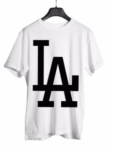 Camiseta L A Los Angeles