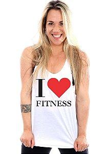 Regata Cavada Feminina I Love Fitness