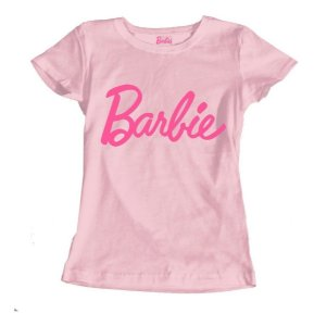 Camiseta Baby Look Barbie