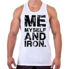 Regata Masculina Me My Self And Iron